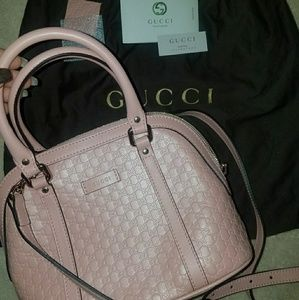 e4185b0a2bc Gucci Bags - New🌹🎉 GUCCI Micro GG leather mini dome purse